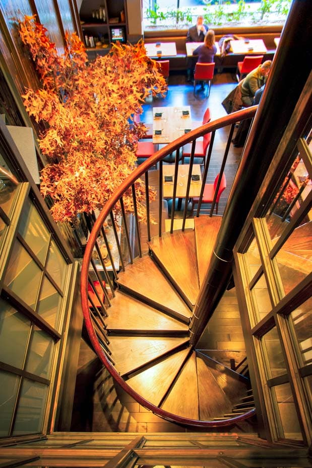 Commercial Spiral Staircase code compliant
