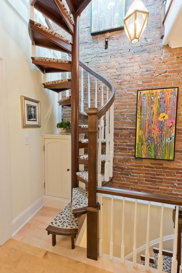... All Wood Spiral Staircase 42 Inch Diameter ...