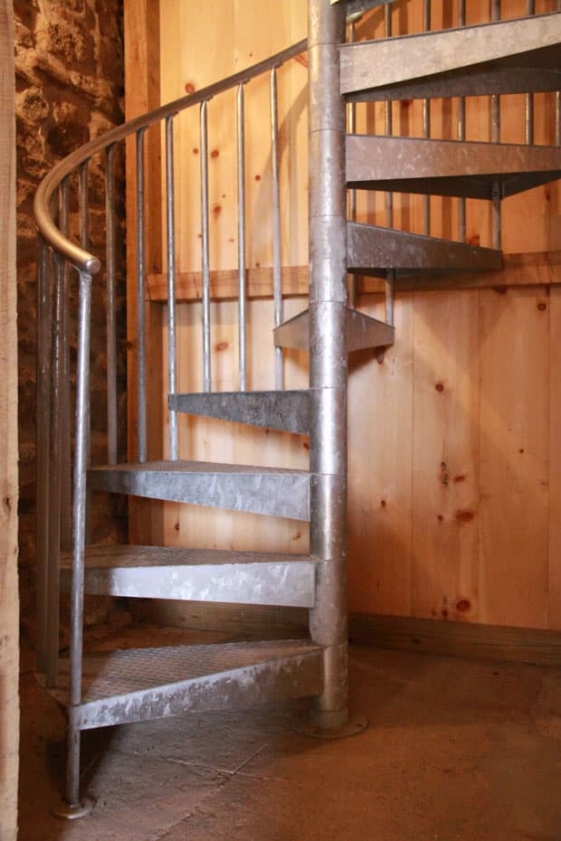 Double Stack Spiral Staircase rugged durability