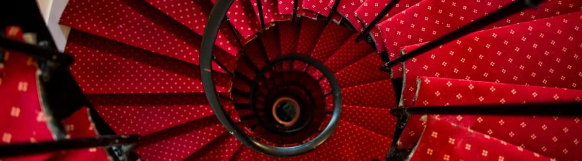 The Haunting Tale of the Tulip Spiral Staircase
