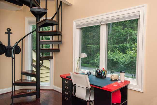 Classic Steel Loft Stair