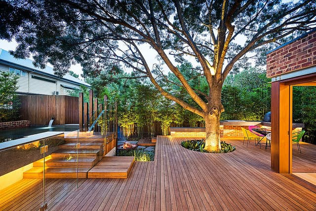 Backyard Deck Ideas Decor