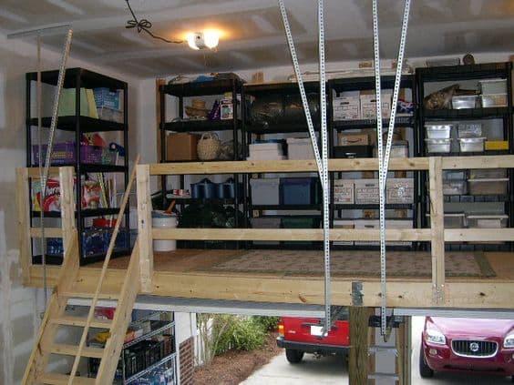 Garage Loft Storage