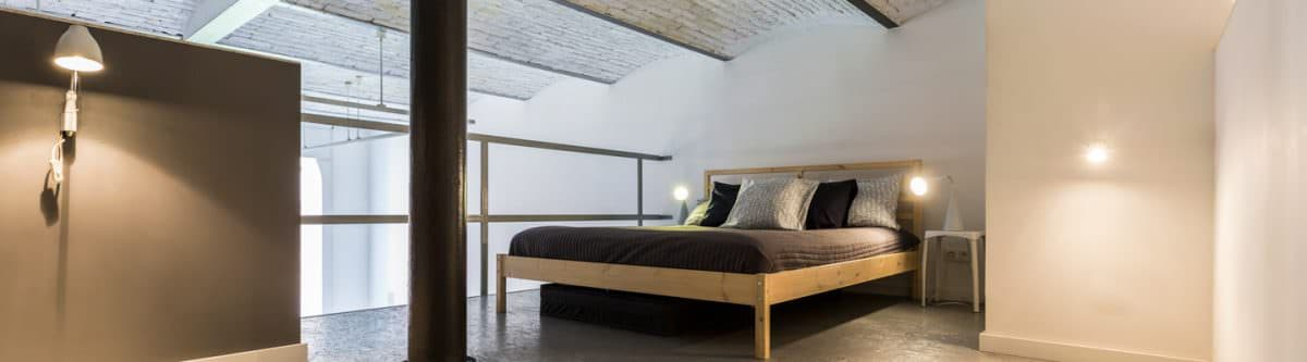 Turning a Loft into a Bedroom