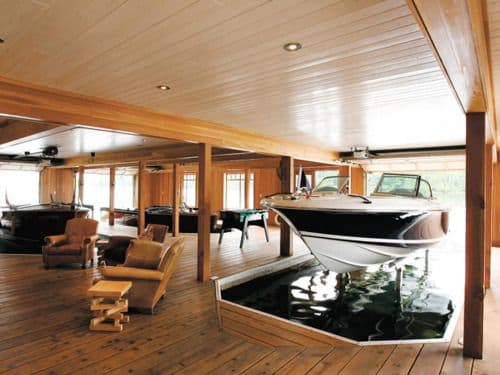 23 Boat House Design Ideas - Salter Spiral Stair