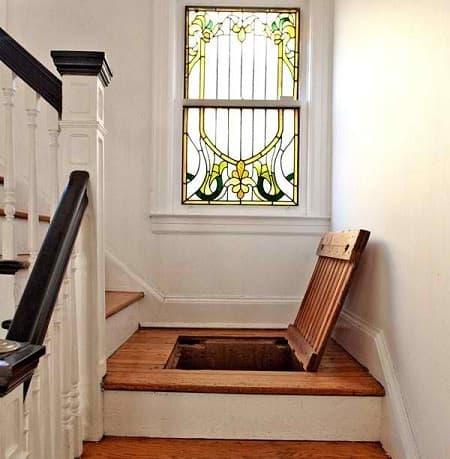 trapdoor stair