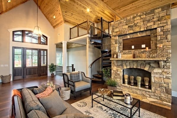 Farmhouse Renovation Ideas By Room Salter Spiral Stair