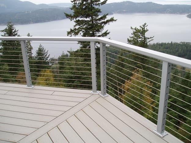 cable railing deck railing
