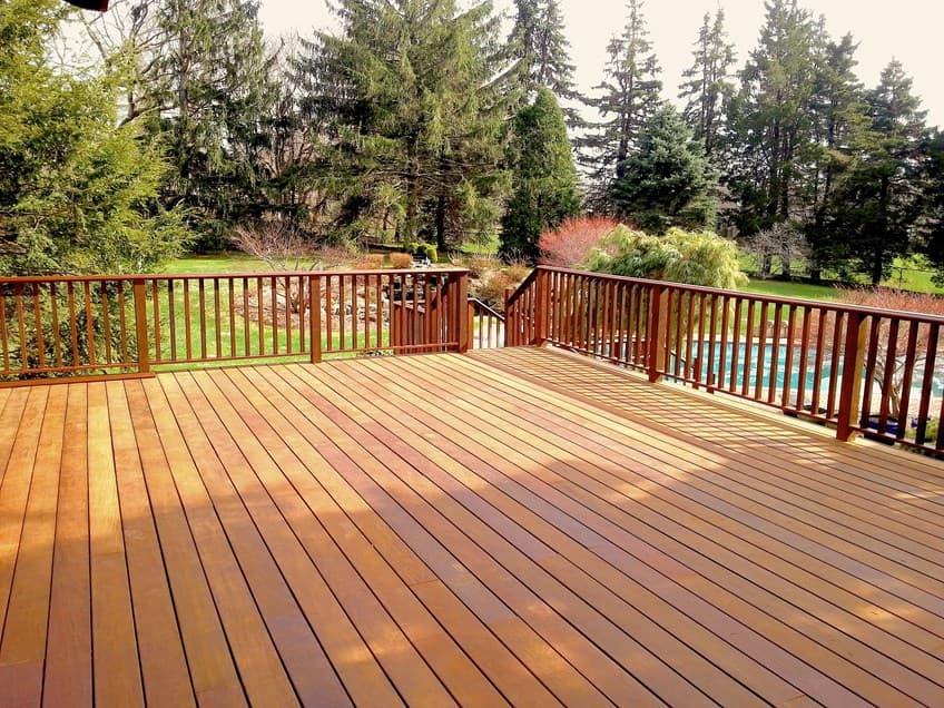 diy deck project restoration