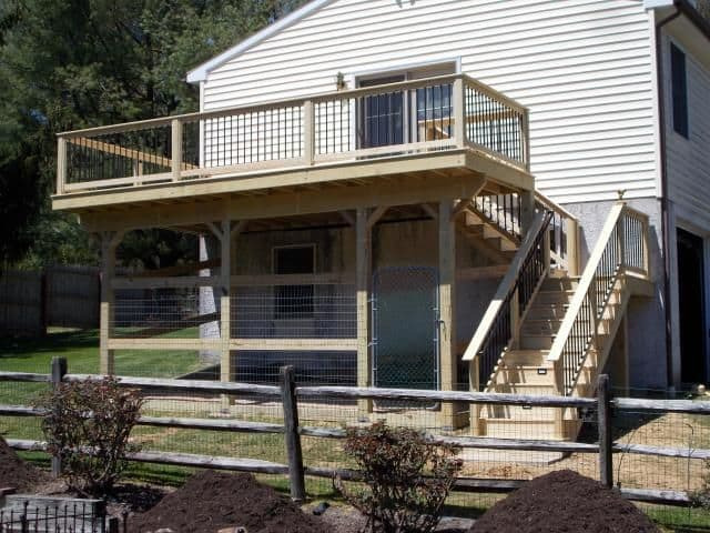How To Use Your Under Deck Patio Salter Spiral Stair