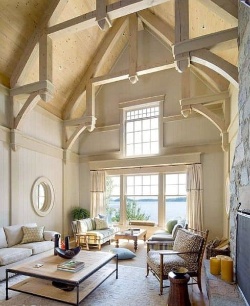 vaulted-ceiling-beach-house