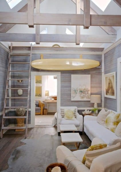 Incredible Beach House Interiors | Salter Spiral Stair