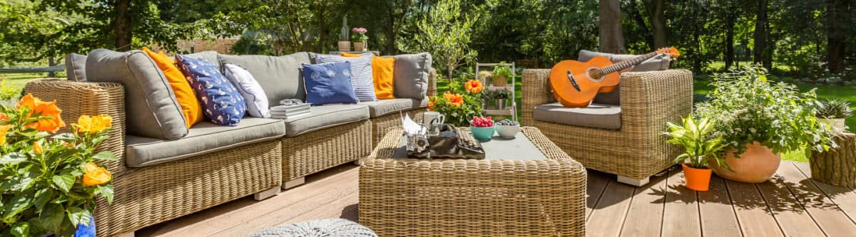 Create Outdoor Living Spaces on a Budget