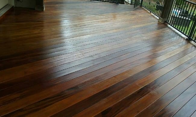 eco friendly deck maintenance