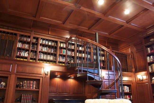 small loft library