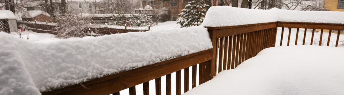 Getting your Deck Ready for Cold Weather
