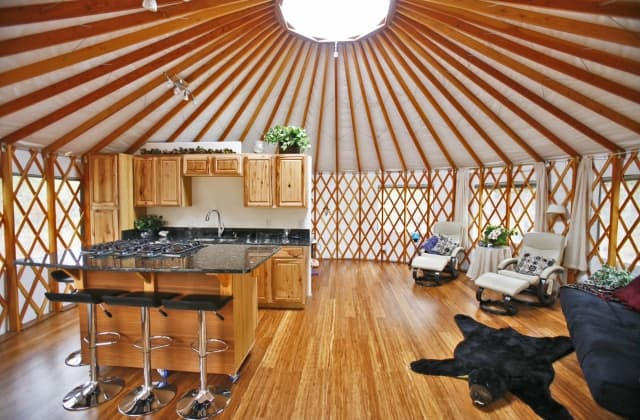 21 Yurt Designs For Every Home Style Salter Spiral Stair