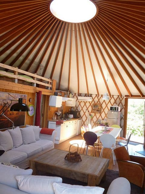 simple yurt design